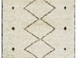 Beige and Brown area Rugs Famous Maker Moroccan Psl 02 3 Beige Brown area Rug