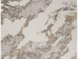 Beige and Brown area Rugs Nourison Silky Textures Sly03 Brown Ivory area Rug
