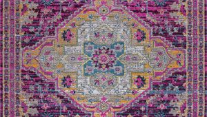 Beige and Purple area Rugs Harrold oriental Lilac Beige area Rug