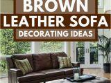 Best area Rug for Brown Leather Furniture 17 Dark Brown Leather sofa Decorating Ideas Home Decor Bliss
