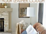 Best area Rug for Brown Leather Furniture Best Throw Pillows for Leather Couch at Home with the Barkers
