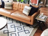 Best area Rug for Brown Leather Furniture Roundup 5 Amazing Mid Century Living Room Ideas