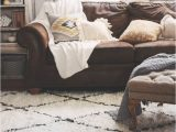 Best area Rug for Brown Leather Furniture thoughts From Alice Fall Home tour 2014