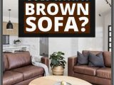 Best area Rug for Brown Leather Furniture What Color Of Rug Goes with A Brown sofa Home Decor Bliss