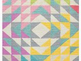 Best area Rugs for Kids Rizzy Home Play Day Triangle Geo area Rugs