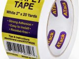 Best Carpet Tape for area Rugs atack Carpet Tape for area Rugs and Carpets Removable 2 Inches X 20 Yards Ideal for Stair Treads Rugs Carpets Over Carpets or Delicate Hardwood