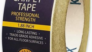 Best Carpet Tape for area Rugs Double Sided Carpet Tape 90ft 30yrd Roll Double Sided Tape Heavy Duty for Rugs Mats Pads & Runners Rug Tape for Hardwood Floors Tile Laminate 2