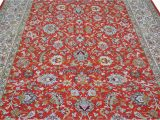 Best Price Large area Rugs Buy Beautiful Red All Over Kashan Silk area Rug at Best