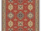 Best Stain Resistant area Rugs Ademi Paprika Red Rug
