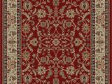 Best Stain Resistant area Rugs Bal Classic Keshan Red area Rug