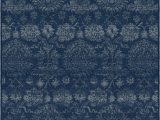 "Better Homes and Gardens 5×7 area Rugs Better Homes & Gardens 5 3"" X 6 9"" Viscose area Rug Indigo Damask Walmart"