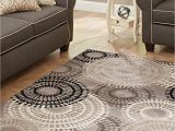 Better Homes and Gardens 5×7 area Rugs Better Homes & Gardens Taupe ornate Circles area Rug