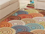 Better Homes and Gardens 8×10 area Rugs Better Homes and Gardens Bright Dotted Circles area Rug or