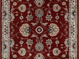 Better Homes and Gardens area Rug 5×7 Better Homes & Gardens 5 X7 Traditional Border Red area Rug Walmart