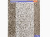 Better Homes and Gardens Heathered Bath Rug Better Homes & Gardens Heather Stripe Anti Slip Runner 20 X 60 Taupe