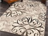Better Homes and Gardens Iron Fleur area Rug 8×10 Better Homes Gardens Iron Fleur Indoor area Rug Beige