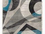 Better Homes Gardens Gray Aqua Waves area Rug Ivy Bronx Amelie Geometric Turquoise area Rug