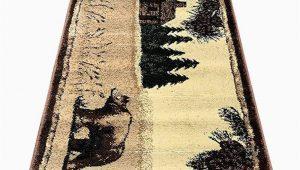 Big Lots 8 X 10 area Rugs Carpet Cabin Style Runner area Rug Big Black Bear Rugs