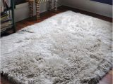 Big White Fluffy area Rug Unavailable Listing On Etsy
