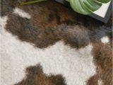 Binx Faux Cowhide Beige Brown area Rug A Faux Cowhide Rug for A Rustic touch Homedecor Farmhouse
