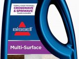 Bissell Crosswave area Rug Cleaner Bissell Multisurface Floor Cleaning formula Crosswave and Spinwave 64 Oz 64 Fl Oz