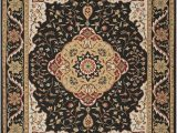 Black and Cream area Rug 8×10 Safavieh Easy to Care Collection Ezc757e Handmade Black and Cream area Rug 8 X 10