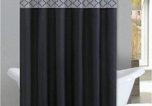 Black and Gray Bath Rugs Kadir Black & Silver Diamond 15 Piece Bathroom Accessory Set 2 Bath Mats Shower Curtain & 12 Fabric Covered Rings Walmart