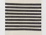 Black and Gray Bath Rugs Striped Floor Mat Natural White Black Striped Home All
