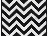 Black and White area Rugs Walmart Garland Rug Cheveron Black White 5 X7 Indoor area Rug Walmart
