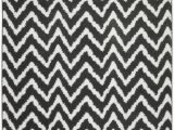 "Black and White area Rugs Walmart Mainstays Distressed Zig Zag Cinder Gray White 7 6""x9 6"" Indoor area Rug Walmart"