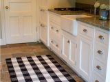 Black and White Checkered Bathroom Rug Black and White Buffalo Checkered Rug 3 X 5 for Kitchen