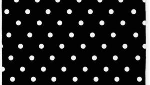 Black and White Polka Dot area Rug Cafepress Black and White Polka Dot 3 X5 Decorative area Rug Fabric Throw Rug