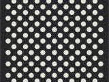 Black and White Polka Dot area Rug Milliken Black & White area Rug Eclipse Nightfall Black