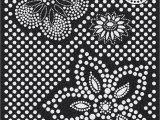 Black and White Polka Dot area Rug Milliken Black & White area Rug Eyelet Mod Black Flowers