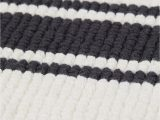 Black and White Striped Bath Rug Striped Bath Mat White Black Striped Home All