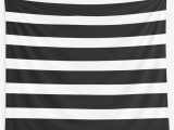 Black and White Striped Bath Rug Thick Black and White Striped Bath Mat