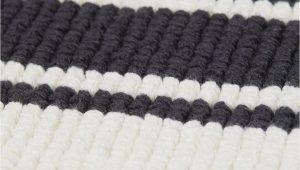 Black and White Striped Bathroom Rug Set Striped Bath Mat White Black Striped Home All