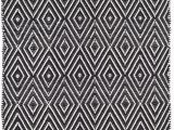 Black and White Woven area Rug Black Flat Woven area Rugs You Ll Love In 2020