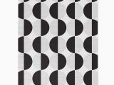 Black and White Woven area Rug Black White Geometric Circles area Rug