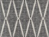 Black and White Woven area Rug Erin Gates by Momeni River Beacon Black Hand Woven Indoor Outdoor area Rug 5 X 7 6""