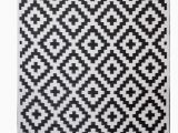 Black and White Woven area Rug Premier Home Hand Woven Black White Indoor Outdoor area Rug
