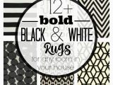 Black area Rugs Near Me 12 Bold Black & White Rugs for Every Room In Your Home