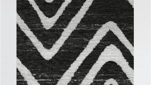 Black area Rugs Near Me Linear Aztec Black Rug