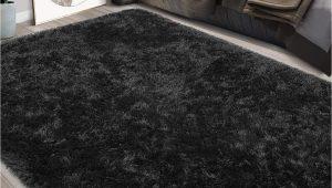 Black Fuzzy Bathroom Rug Amazon Foxmas Ultra soft Fluffy area Rugs for Bedroom
