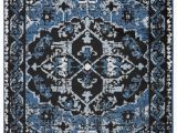 Black Gray Blue area Rug Lr Resources Infinity Black Sky Blue area Rug