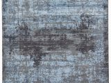 "Black Gray Blue area Rug Marseille Abstract Black Blue area Rug 7 6""x9 6"""