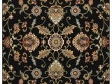 Black Multi Color area Rugs oriental Weavers Kashan 9946k Black Multi area Rug
