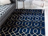 Black White and Gold area Rug Navy Blue Gold Marilyn Monroe 2 X 3 Marilyn Monroe™ Glam