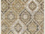 "Black White and Tan area Rug Sev 2336 Color Tan Black White Size 1 6"" Corner"