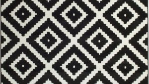 Black White area Rugs 8×10 Leana Black Indoor area Rug Joss & Main